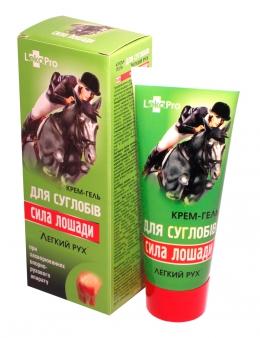 фото Крем-гель «Сила лошади» для суставов