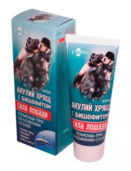 фото Крем  Акулий хрящ  с бишофитом «Сила лошади»