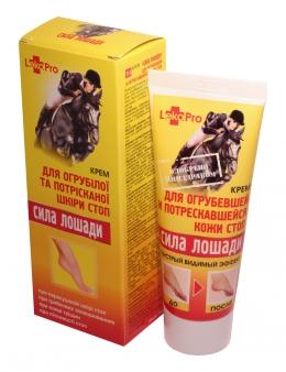 фото Крем «Сила лошади» для огрубевшей и потрескавшейся кожи стоп